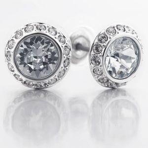 Swarovski Angelic Pierced Earrings, White